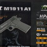 Pistolet Métal À Billes Colt M 1911 A1 0.500 Joules Attention: Vente Interdite Aux Personnes Âgées De Moins De 18 Ans … de la marque CyberGun TOP 4 image 0 produit