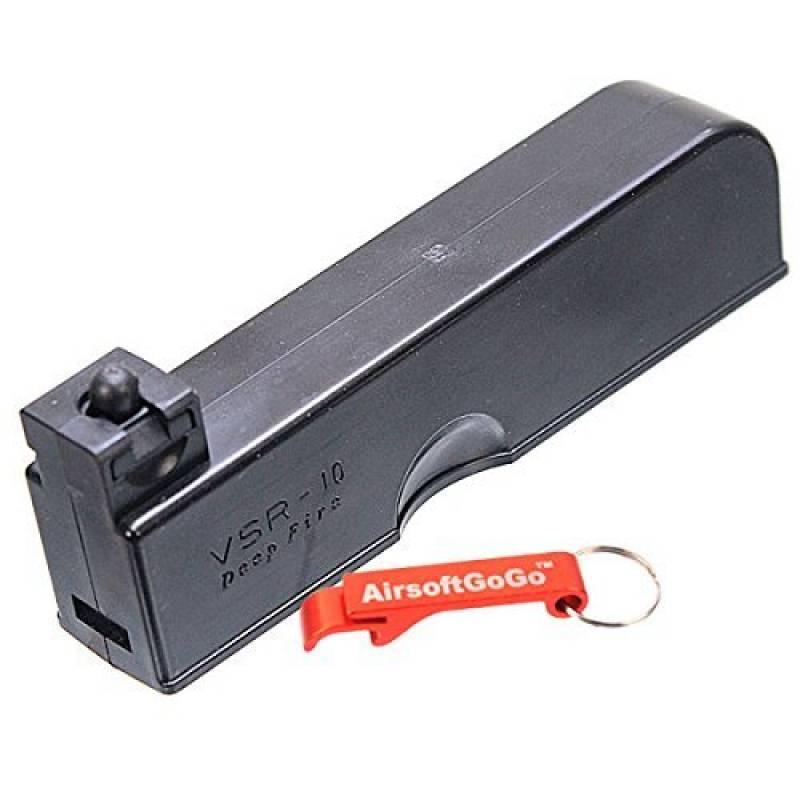 30rd Chargeur pour WELL VSR-10 MB02, MB03, MB07D, MB10D, MB11D, MB12D, MB13D Airsoft Bolt Action [pour Airsoft uniquement] de la marque AirsoftGoGo TOP 5 image 0 produit