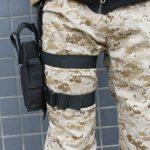 AGPtek Armée Tactique Pistolet Jambe Holster de Cuisse Noir de la marque AGPtek® TOP 7 image 2 produit