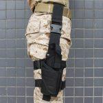 AGPtek Armée Tactique Pistolet Jambe Holster de Cuisse Noir de la marque AGPtek® TOP 7 image 6 produit