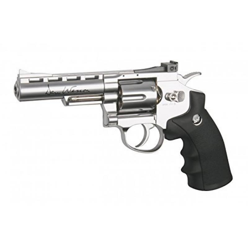 Airsoft ASG Revolver Dan Wesson 4 Pouces CO2 Full Métal Cartouches Amovibles (0.5 joule) de la marque ASG TOP 9 image 0 produit