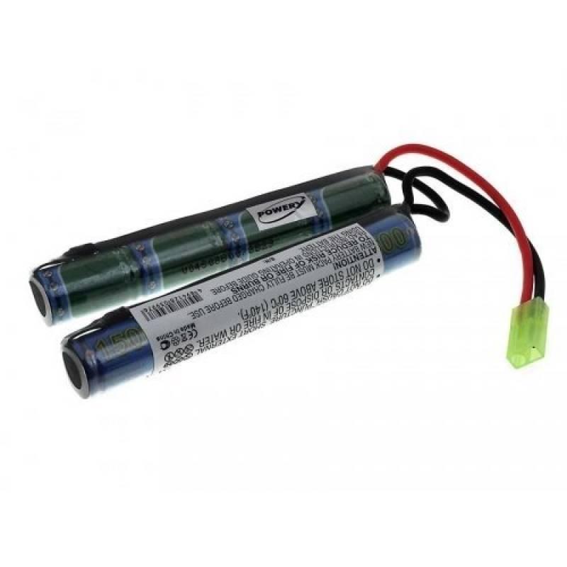 Batterie pour pistolet Airsoft 9,6V-1500mAh de la marque Batterie-Fr TOP 15 image 0 produit