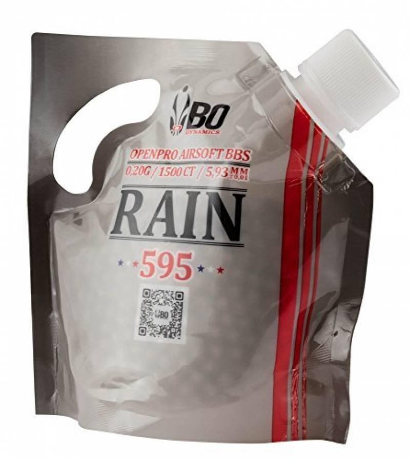 Billes airsoft BO RAIN 0.20 g Sachet 1500 de la marque BO Dynamics TOP 8 image 0 produit
