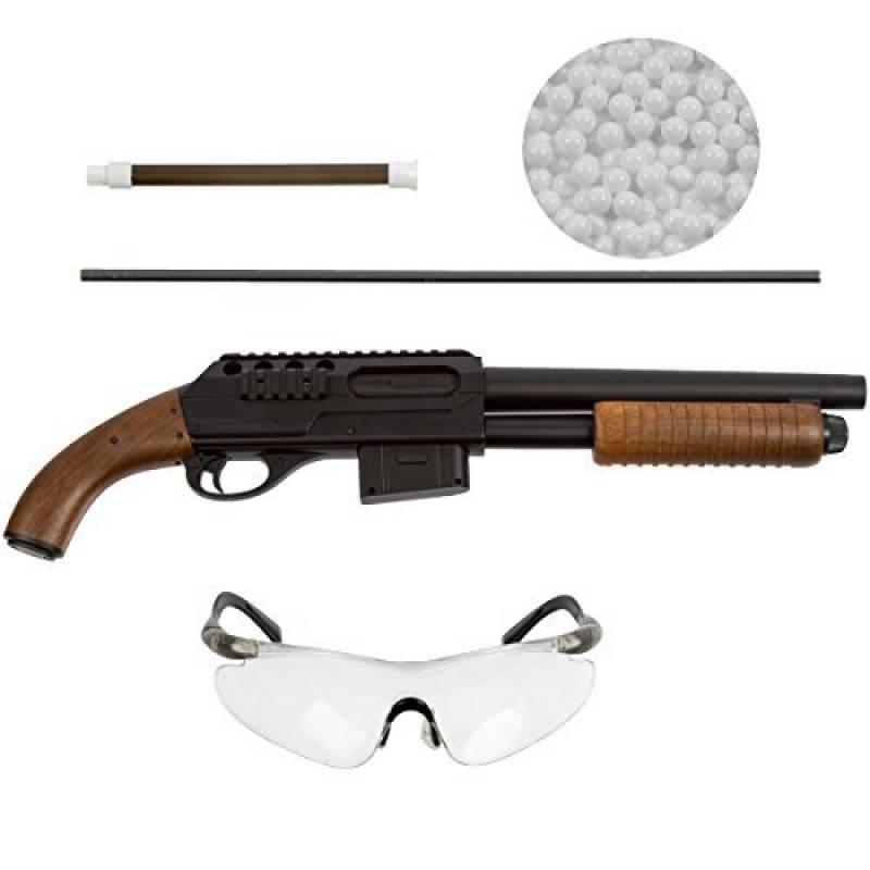 Carabine à air comprimé avec système Hop Up inférieur à 0,5 Joule, lunettes de protection et munition de calibre 6 mm BB airsoft de la marque Oramics TOP 5 image 0 produit