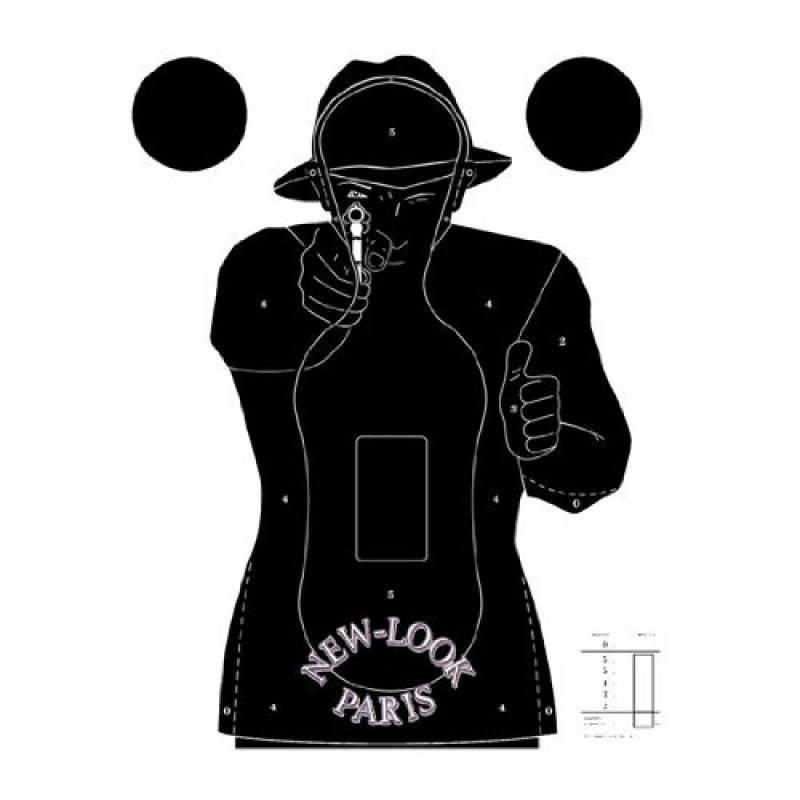 Cible Silhouette Police Paquet de 10 de la marque Airsoft Land TOP 12 image 0 produit