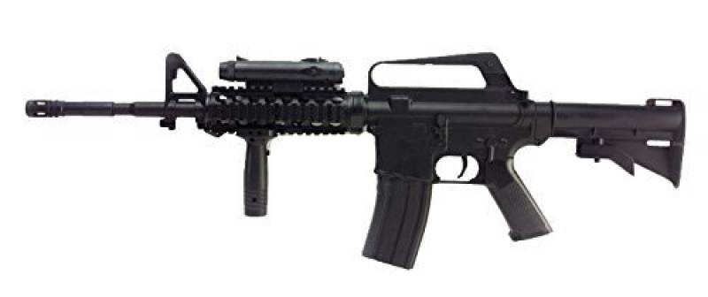 FUSIL D'ASSAUT A BILLES M16A4 M4 RIS SPRING HOP UP 0.5 JOULE WELL AC80011 AIRSOFT REPLIQUE COLT de la marque Double Eagle TOP 13 image 0 produit