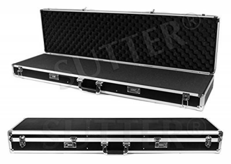 Mallette pour armes en aluminium 125x36x15cm - Malette fusil et arme - Housse fusil et arme de la marque SUTTER® TOP 2 image 0 produit