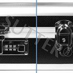 Mallette pour armes en aluminium 125x36x15cm - Malette fusil et arme - Housse fusil et arme de la marque SUTTER® TOP 2 image 3 produit