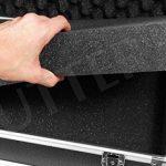Mallette pour armes en aluminium 125x36x15cm - Malette fusil et arme - Housse fusil et arme de la marque SUTTER® TOP 2 image 5 produit