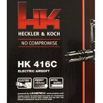 Mitraillette airsoft électrique puissante de marque Heckler & Koch - Inclus chargeur, câble et pochette - Puissance de tir maximale 0,5 Joule de la marque Heckler & Koch TOP 4 image 2 produit
