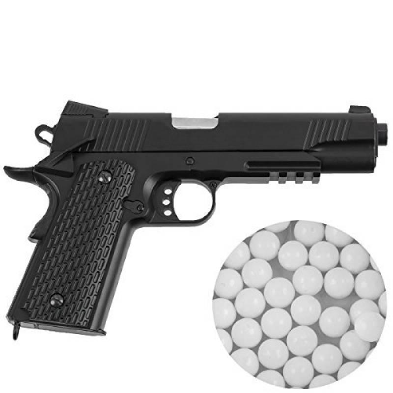 Pistolet airsoft M291 puissance de tir inférieur à 0,5 joules calibre 6 mm - munitions inclues de la marque Oramics TOP 12 image 0 produit