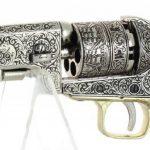 REVOLVER MARINE USA 1851 METAL ARGENT OR ET BLANC AVEC GACHETTE de la marque Denix TOP 8 image 2 produit