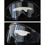 Sijueam Lunettes de Protection de Yeux Visage Masque pour sport de plein air Anti-UV coupe-vent Anti-sable Anti-poussière pour Activités Extérieures vélo Moto Cross VTT Ski Snowboard Cyclisme Goggles TOP 1 image 1 produit