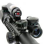 Spike Lunettes de visée Airsoft 3-9X40EG Illuminated Chasse Rouge / Vert Riflescope laser holographique avec Dot Sight Combo viseur d'arme de la marque Spike TOP 6 image 3 produit