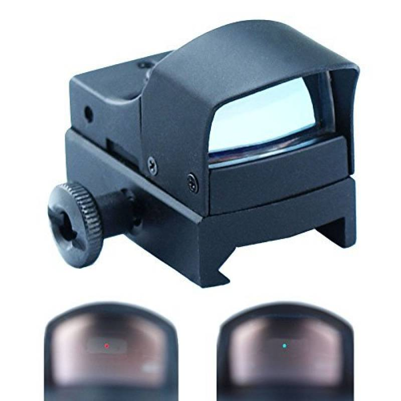 Spike Lunettes de visée Mini Projecteur holographique Reflex Micro 3 MOA rouge/vert Double Illumination Dot Sight Airsoft Chasse de la marque Spike TOP 8 image 0 produit