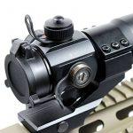 Spike tactique 4 MOA Red Green Dot laser Airsoft Illuminated M3 Lunettes de visée Reflex Dot Sight Stinger PEPR 20mm Chasse de la marque IRON JIA'S TOP 5 image 3 produit