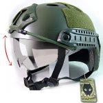 SWAT style militaire de l'armée combat PJ Casque rapide w / Lunettes de protection OD vert pour CQB Tir Airsoft de la marque WorldShopping4U TOP 2 image 0 produit