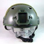 SWAT style militaire de l'armée combat PJ Casque rapide w / Lunettes de protection OD vert pour CQB Tir Airsoft de la marque WorldShopping4U TOP 2 image 1 produit
