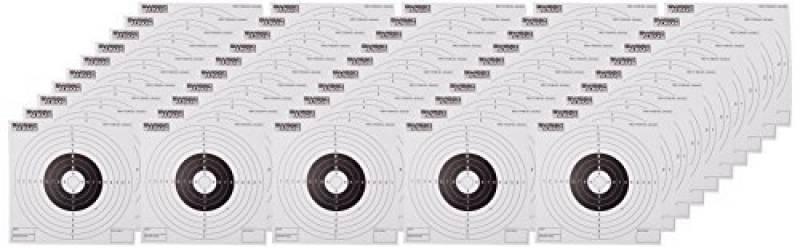 SWISS ARMS 50 Cibles en carton 14X14 pour cible Métal 6's mm de la marque Swiss Arms TOP 10 image 0 produit