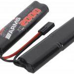 Swiss Arms Accu Rechargeable Batterie haute performance NIMH double 9,6V/2000 mAh de la marque Swiss Arms TOP 10 image 0 produit