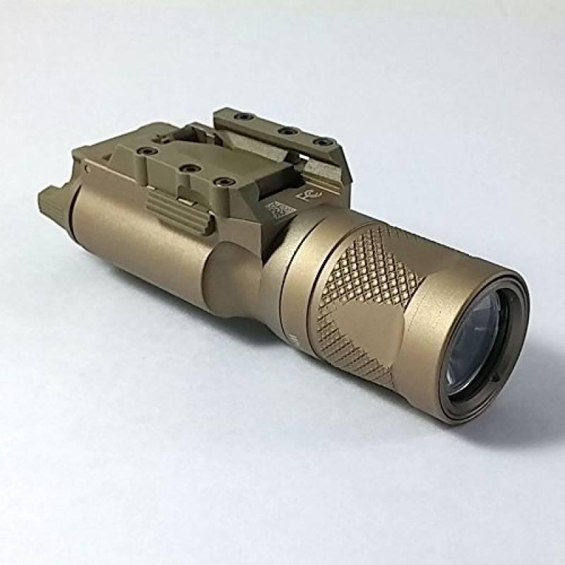 Tactique Airsoft Extérieur Camping Chasse X300V Style Haut Production LED Lumière Arme Lumière Lampe de Poche pour Pistolet Picatinny DE de la marque WorldShopping4U TOP 5 image 0 produit