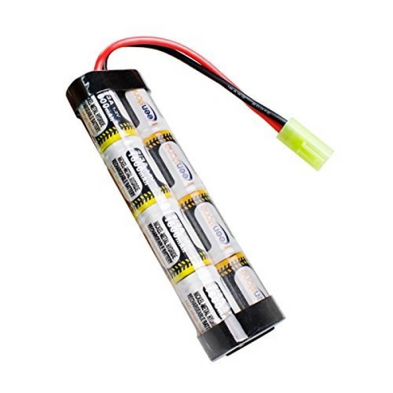 [UL and CE Certification] Keenstone Mini batterie NiMH 1600 mAh + mini connecteur Tamiya de haute performance pour fusil à air comprimé de la marque keenstone TOP 2 image 0 produit