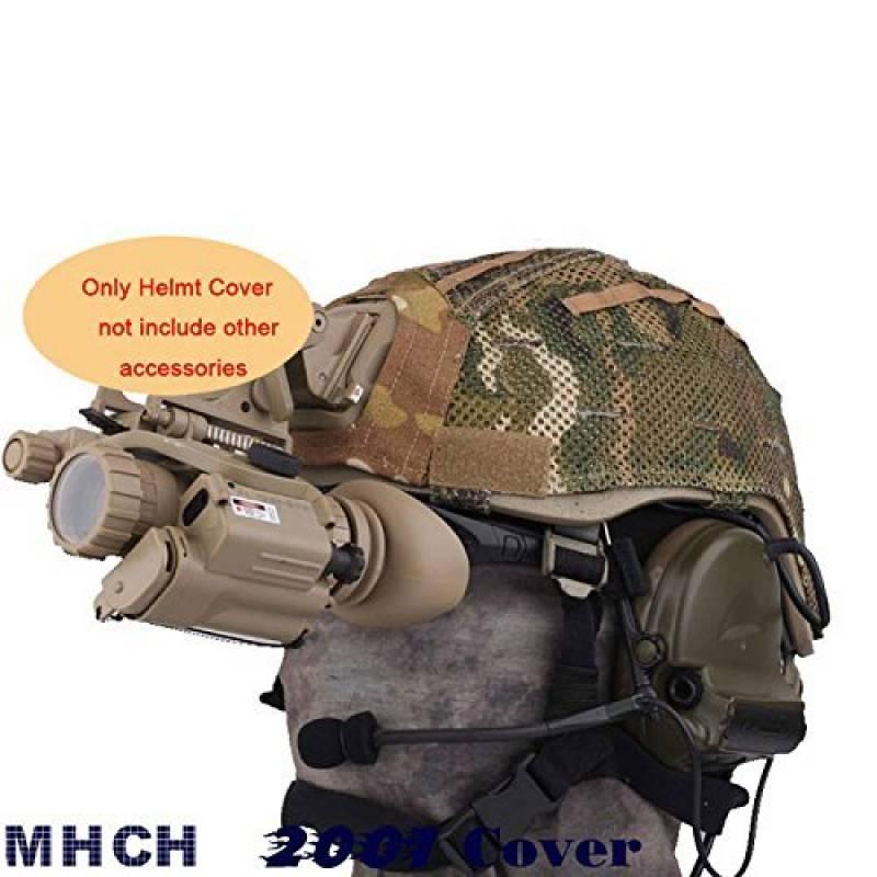worldshopping4u Casque tactique chasse militaire Housse Pochette W/arrière Airsoft pour MICH 2001MC de la marque WorldShopping4U TOP 9 image 0 produit