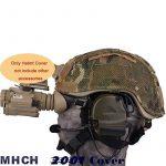 worldshopping4u Casque tactique chasse militaire Housse Pochette W/arrière Airsoft pour MICH 2001MC de la marque WorldShopping4U TOP 9 image 3 produit