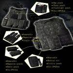 YAKEDA® Ventilateurs Ventilateurs Armée tactique Vest Cs Champ Swat Tactical Army Vest Vest extérieure Cs Jeu Vest cosplay de Counter Strike Jeu Vest-322 de la marque YAKEDA TOP 3 image 6 produit