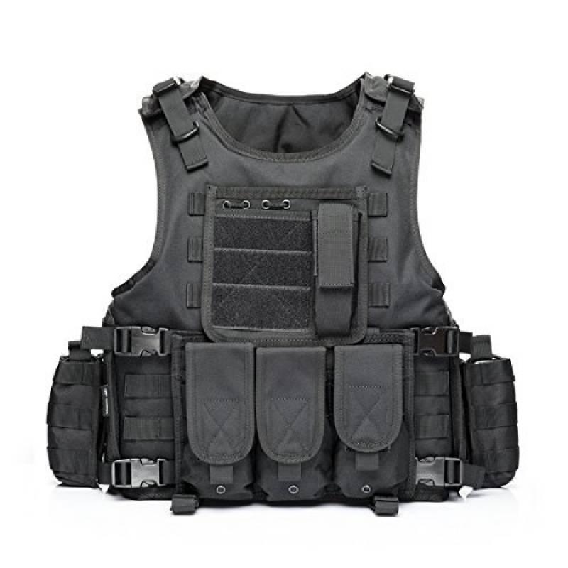 YAKEDA® Ventilateurs Ventilateurs Armée tactique Vest Cs Champ Swat Tactical Army Vest Vest extérieure Cs Jeu Vest cosplay de Counter Strike Jeu Vest-322 de la marque YAKEDA TOP 3 image 0 produit