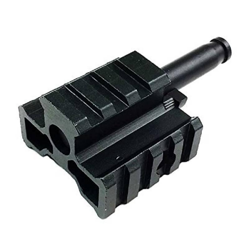 Airsoft chasse Gear bien tri-rail bipied Adaptateur connecteur pour ma4402l96aws Fusil Noir de la marque Airsoft Shopping Mall TOP 14 image 0 produit