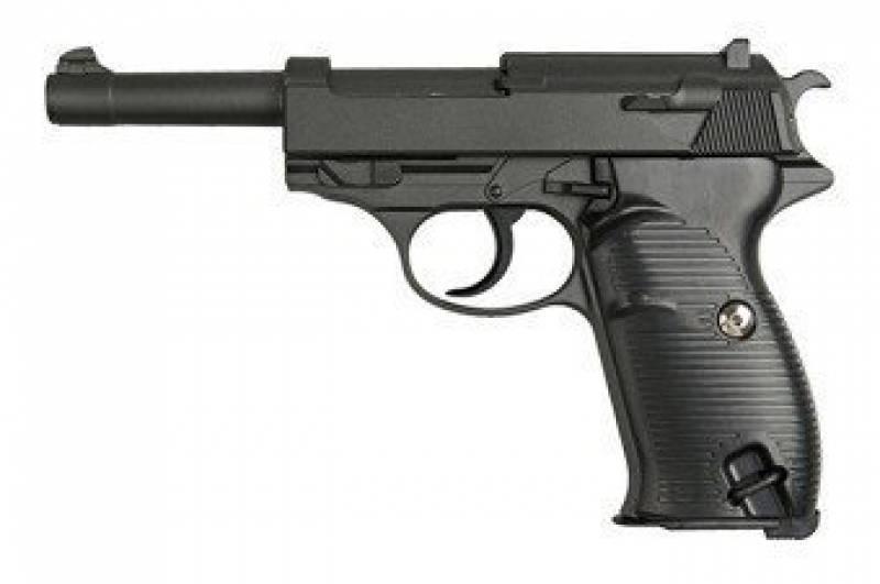 Airsoft-Galaxy g.21 style Mauser P38- Pistolet Ressort- 0,5 Joule de la marque Galaxy TOP 12 image 0 produit