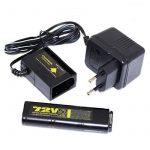 Airsoft vue Gear bien 7,2V 450mAh Ni-MH Batterie et chargeur pour Vz61Scorpion Mp7Mac10R2R4 de la marque Airsoft Shopping Mall TOP 2 image 0 produit