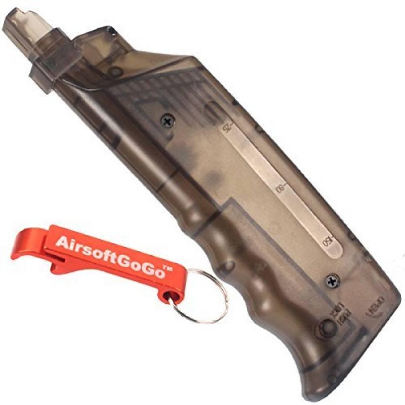 Chargeur 200rd 6mm Billes Loader pour Airsoft AEG GBB GBBR AEP [pour Airsoft uniquement] de la marque AirsoftGoGo TOP 6 image 0 produit