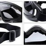 Coofit Demi Masque Outdoor 2Set maille inox et lunettes de protection de la marque Coofit TOP 5 image 3 produit