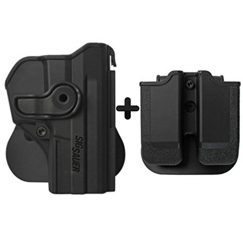 IMI Defense Kit tactique caché portez rotation étui de revolver tournat holster + Porte-Chargeur Double magazine pour Sig Sauer Pro SP2022/SP2009 de la marque I TOP 4 image 0 produit