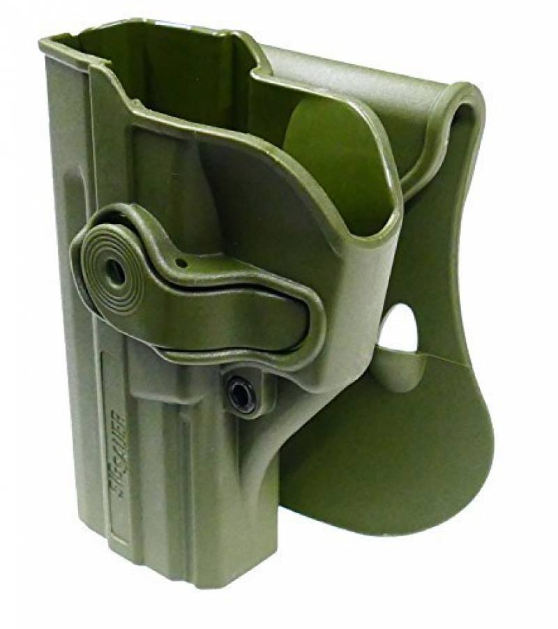 IMI L/H Roto Retention Holster Sig Sauer SP2022 SP2009 Moulded Airsoft Z1290LH de la marque IMI TOP 11 image 0 produit