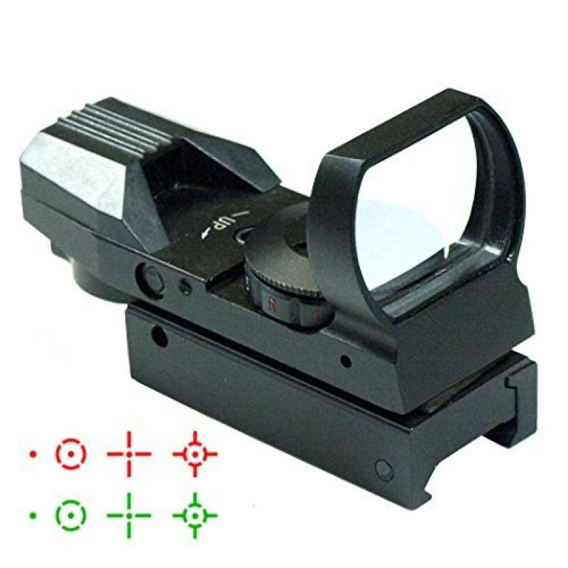 IRON JIA'S 20mm airsoft Tactical ferroviaire multi réticule 4 Rouge et Green Dot Sight Portée queue d'aronde Monts Red Dot Sight de la marque IRON JIA'S TOP 8 image 0 produit