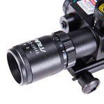 IRON JIA'S Lunettes de visée Optique de Rifle 2.5-10x40ER Chasse Rouge / Vert Riflescope laser avec Red Dot Champ Combo Airsoft Gun Arme Sight de la marque TOP 1 image 1 produit