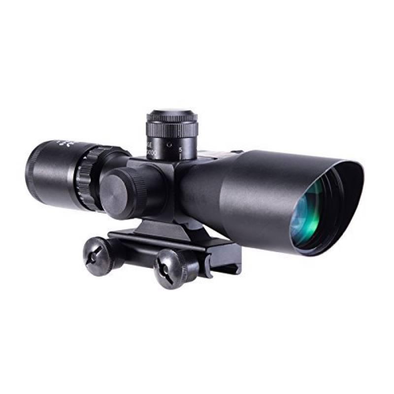 IRON JIA'S Lunettes de visée Optique de Rifle 2.5-10x40ER Chasse Rouge / Vert Riflescope laser avec Red Dot Champ Combo Airsoft Gun Arme Sight de la marque TOP 1 image 0 produit