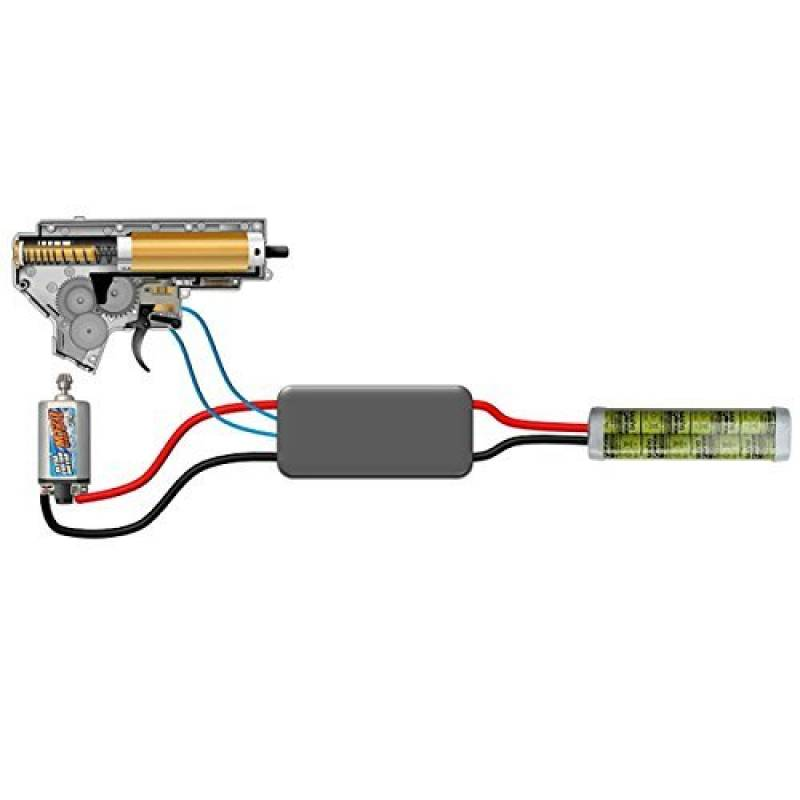 Jefftron Airsoft Mosfet Active Break Version 16 Awg Wire Lipo Battery Management de la marque JeffTron TOP 15 image 0 produit