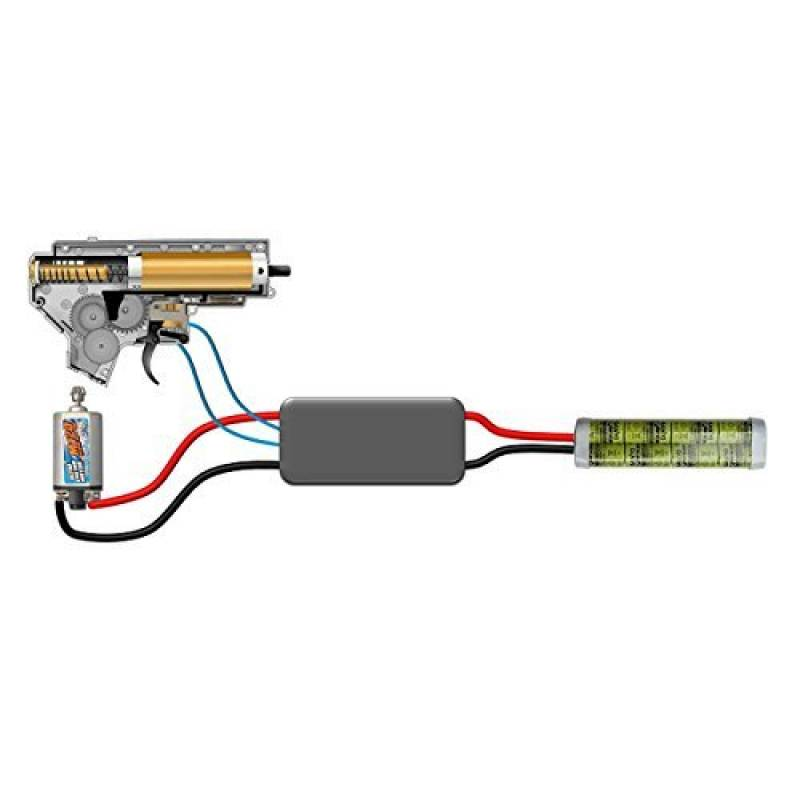 JEFFTRON AIRSOFT MOSFET PROCESSOR UNIT PROGRAMMABLE POWER CONTROL 3 RD BURST de la marque JeffTron TOP 7 image 0 produit