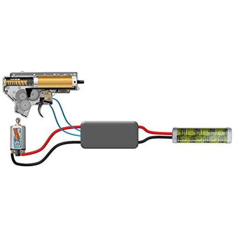 Jefftron Extreme Processor Unit Airsoft Mosfet Programmable Lipo Battery de la marque JeffTron TOP 12 image 0 produit