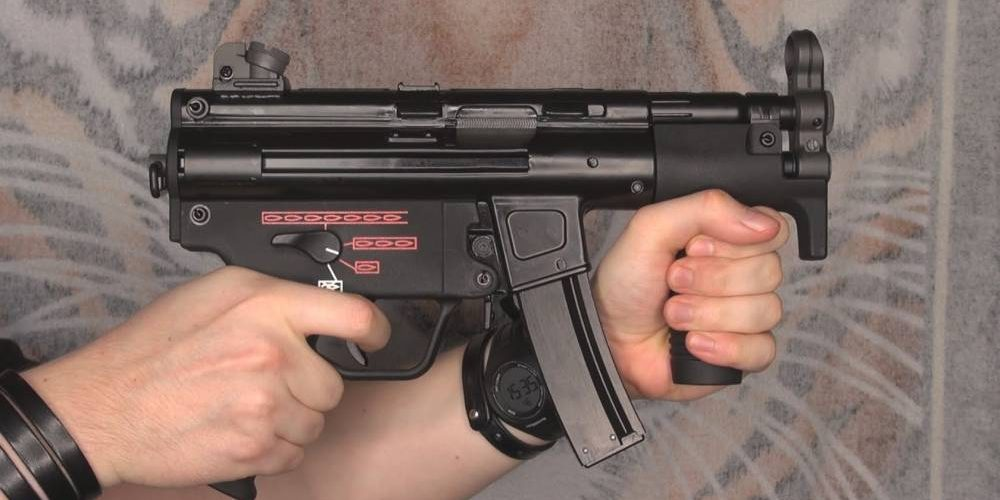 La réplique MP5K principale
