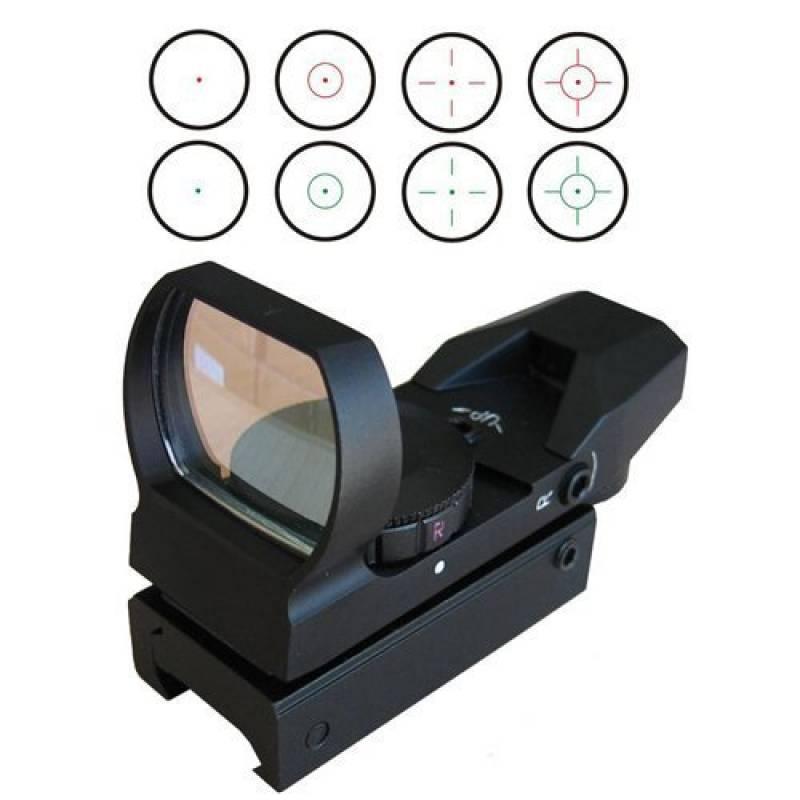 LMJ-CN® portée rouge et vert Reflex Sight avec 4 réticules de la marque LMJ-CN® TOP 5 image 0 produit