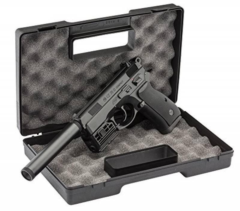 Pack CZ75 d 0,5J - CO2 + mallette Noire + laser réglable + silencieux de la marque GSA TOP 5 image 0 produit