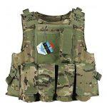 Pellor CS Amphibie Militaire Veste de Protection Molle Gilet Tactique d'Airsoft pour Entraînement de Sécurité Action Réelle Chasse Extérieure de la marque P TOP 9 image 0 produit