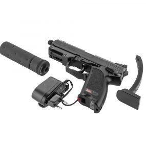 Pistolet airsoft électrique : la réplique idéale pour les débutants principale