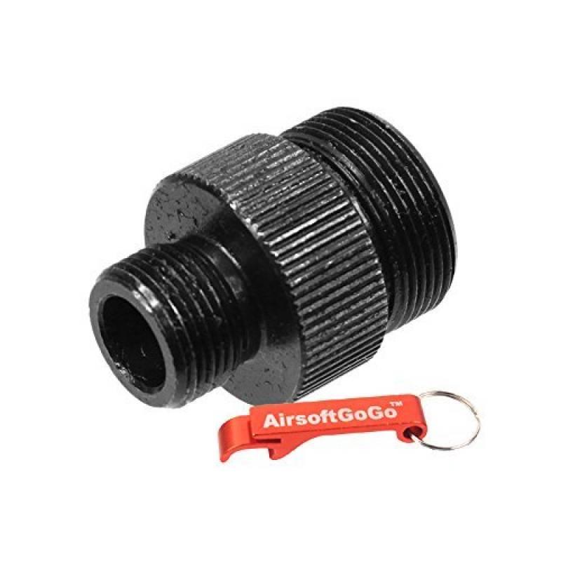 PPS Anti-Clockwise Adaptateur de Canon pour Well MB-08/10 Airsoft Bolt-Action - AirsoftGoGo Porte-clés Inclus de la marque PPS TOP 8 image 0 produit