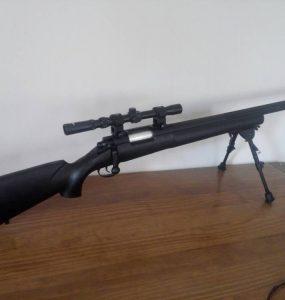 Réplique sniper spring pour Airsoft principale